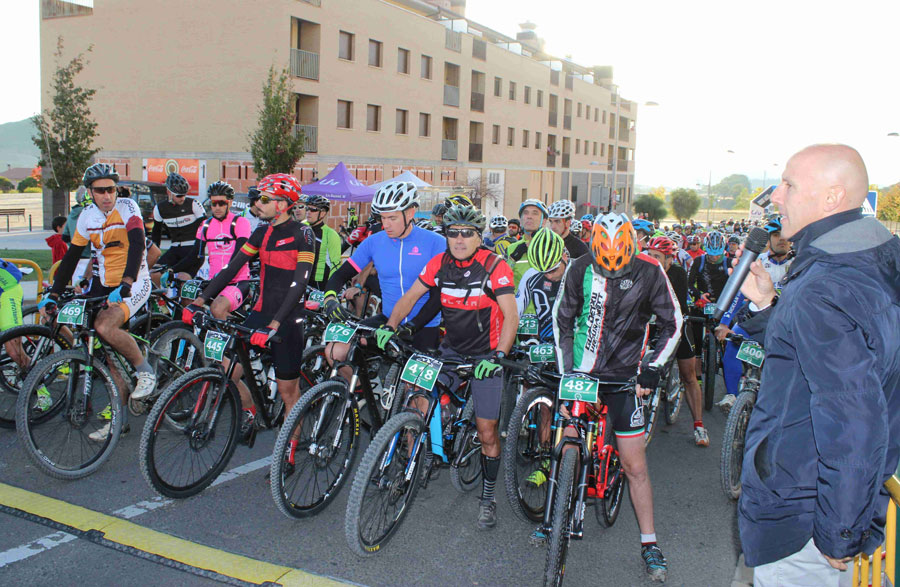 Bike marathon. Tierra Estella Epic 2016